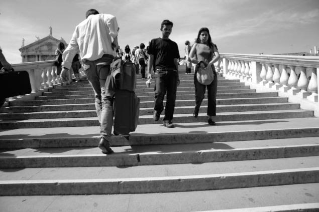 Dal progetto Check-in Architecture. Tourist class, Venezia. Foto di Alessandro Coco.