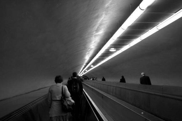 Dal progetto Check-in Architecture. Underground Paris with Gilles Thomas, Paris. Foto di Abigail Turner e Claudia Retegan.