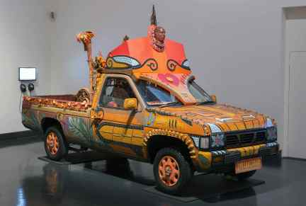 The Tiki Love Truck. In memoria di John Joe, condannato a morte in Texas, 2007.