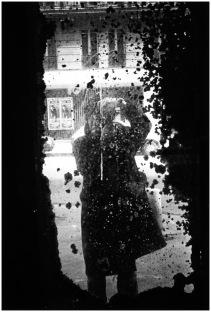 Daidō Moriyama, Self-portrait, Paris, 1989