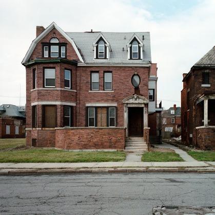 """100 Abandoned Houses: Detroit"", Kevin Bauman"